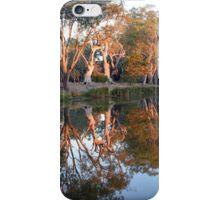 Sunrise Reflections, Lake Lonsdale Stawell iPhone Case/Skin