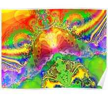 Psychedelic World Poster