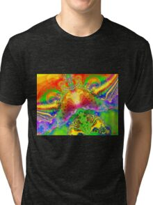Psychedelic World Tri-blend T-Shirt
