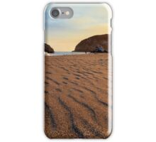Sunset On The Sands Of Brookings iPhone Case/Skin