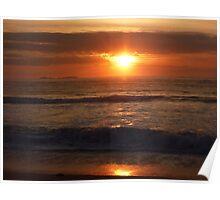 """Sunrise Reflected"" Poster"