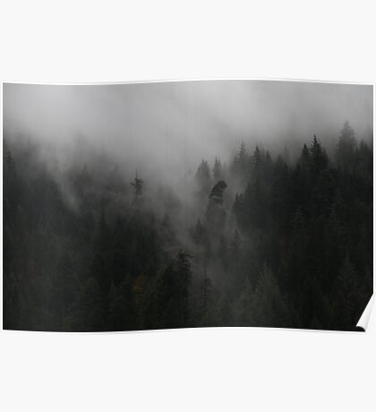 Dressed in Mist Poster