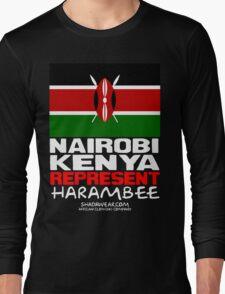 Kenya Represent Long Sleeve T-Shirt