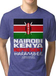 Kenya Represent Tri-blend T-Shirt