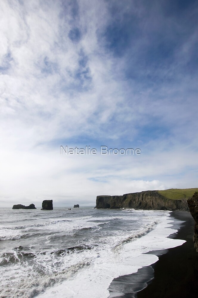 Dyrhólaey III by Natalie Broome