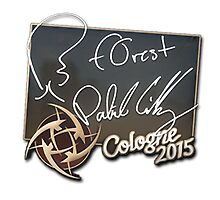 NiP f0rest Cologne 2015 Autogaph Sticker by BRPlatinum