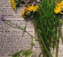 Wildflower Boquet Sticker
