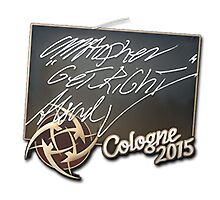 NiP GeT_RiGhT Cologne 2015 Autogaph Sticker by BRPlatinum