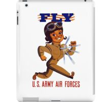 Fly Army Air Forces - WW2 iPad Case/Skin