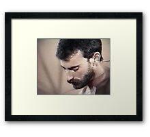 Al Parker Framed Print
