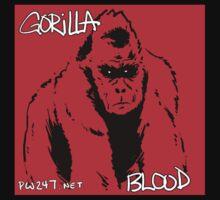 Gorilla Blood Shirt by PW247net