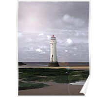 Simply Perch Rock Poster