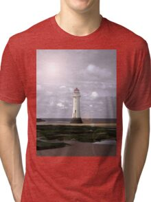 Simply Perch Rock Tri-blend T-Shirt