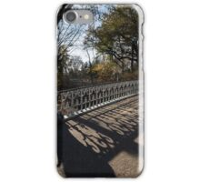 Whimsical Shadows - New York City Central Park Bridge iPhone Case/Skin