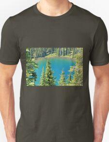 Crystal Blue Lake Unisex T-Shirt