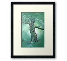 Forest Mother - celtic goddess Framed Print