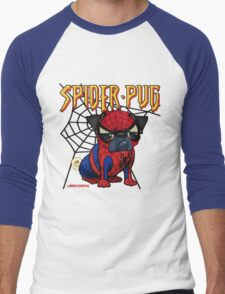 SPIDERPUG Men's Baseball ¾ T-Shirt