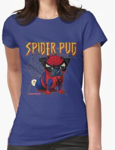 SPIDERPUG Womens Fitted T-Shirt