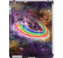 Sir Piggy Ridin' On A Rainbow Through Space iPad Case/Skin