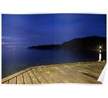 Blue Eve - Blue Lagoon Resort, Micronesia Poster