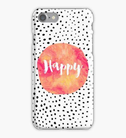 Happy iPhone Case/Skin