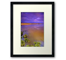 """Green Sunrise"" Framed Print"