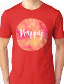Happy Unisex T-Shirt