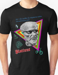 Plotinus and the Forms Unisex T-Shirt