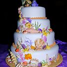 Unique Wedding Cake by elsha