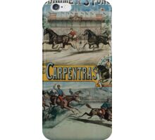 Poster 1890s St Ponchon affiche iPhone Case/Skin