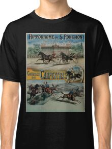 Poster 1890s St Ponchon affiche Classic T-Shirt