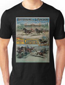 Poster 1890s St Ponchon affiche Unisex T-Shirt
