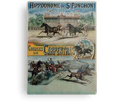 Poster 1890s St Ponchon affiche Metal Print