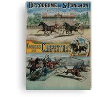 Poster 1890s St Ponchon affiche Canvas Print