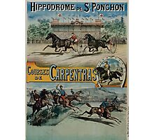 Poster 1890s St Ponchon affiche Photographic Print