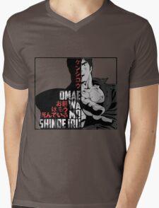Kenshiro Hokuto No Ken Mens V-Neck T-Shirt