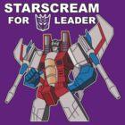 Starscream For Decepticon Leader by Bammelsan