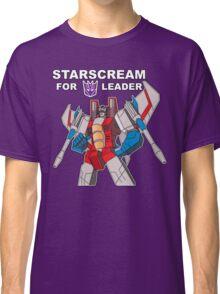 Starscream For Decepticon Leader Classic T-Shirt