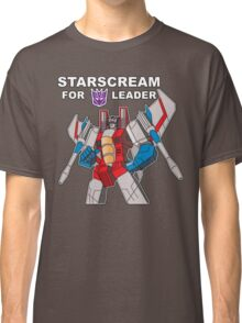 Starscream For Decepticon Leader Classic T-Shirt