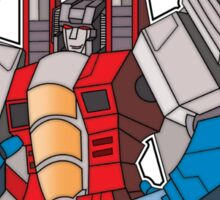 Starscream For Decepticon Leader Sticker