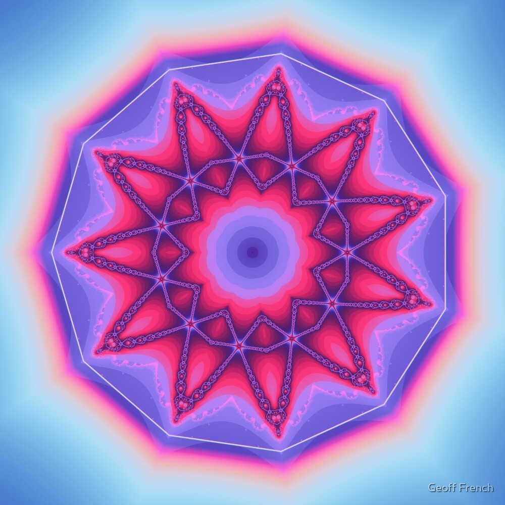 Mandala 01 by Geoff French