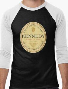 Irish Names Kennedy Men's Baseball ¾ T-Shirt