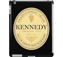 Irish Names Kennedy iPad Case/Skin