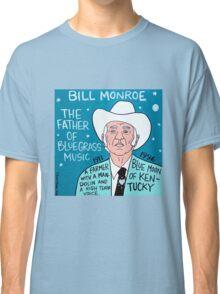 Bill Monroe Bluegrass Pop Folk Art Classic T-Shirt
