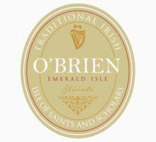 Irish Names O'Brien Kids Clothes