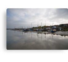 Maldon Estuary Canvas Print