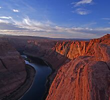 Sunset at Horseshoe Bend by Paul Kavsak