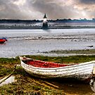 Abbey Lighthouse, River Lune. by Tarrby