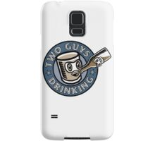 Two Guys Drinking Logo Samsung Galaxy Case/Skin