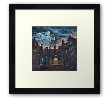 Concert For Angel With Orchestra Framed Print